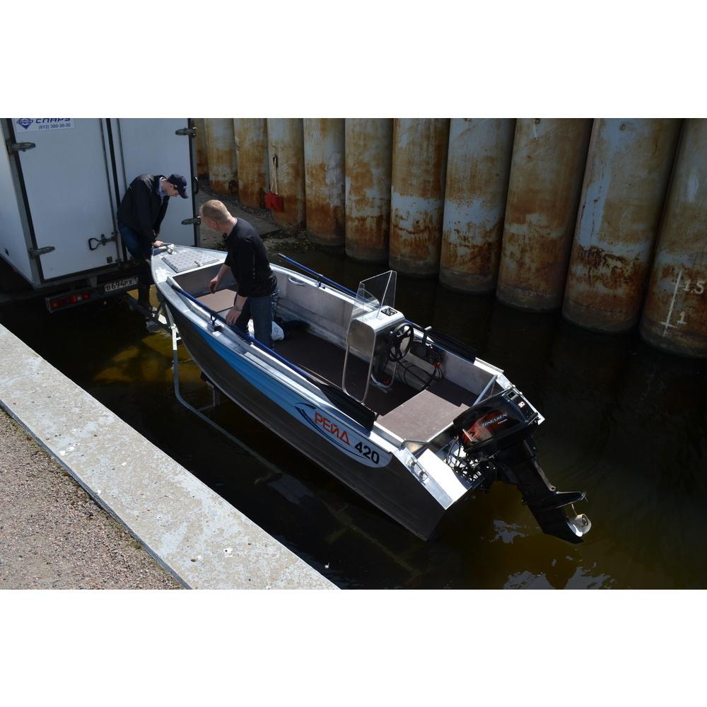 лодка рейд 420 видео